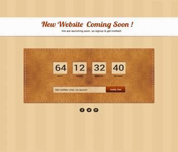 قالب سایت در دست ساخت PSD