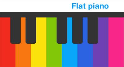 بازی پیانو به صورت HTML5