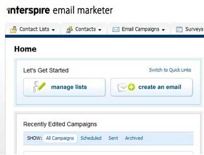اسکریپت ارسال ایمیل گروهی Interspire Email Marketer 6.1.3