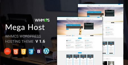قالب هاستینگ Megahost برای وردپرس و HTML