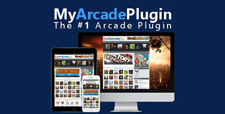 افزونه بازی آنلاین MyArcadePlugin Pro