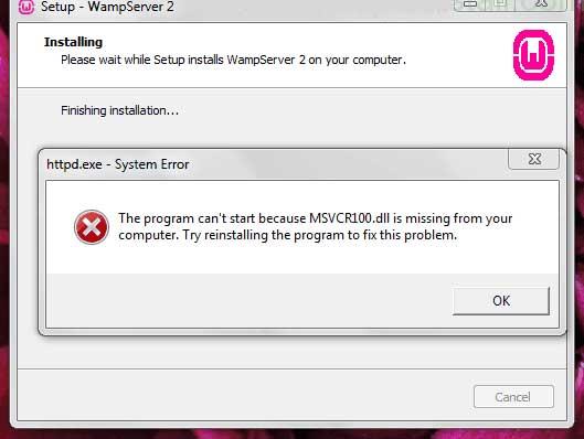 خطای msvcr dll چیست و چرا رخ می دهد