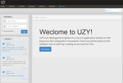 اسکریپت مدیریت کاربران UZY