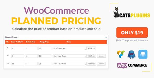 افزایش فروش فروشگاه با Planned Pricing For WooCommerce