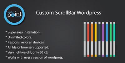 افزونه تغییر scrollbar برای وردپرس