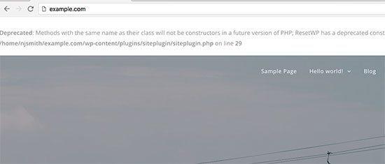 پنهان و غیرفعال کردن خطا های PHP