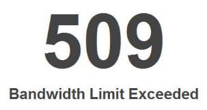 ارور ۵۰۹ چیست