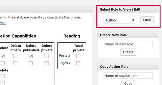 جلوگیری از حذف مطالب توسط نویسنده ها
