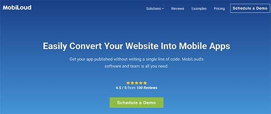 تبدیل سایت وردپرس به اپلیکیشن موبایل