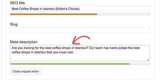 نمایش سایت وردپرسی در باکس پاسخ گوگل