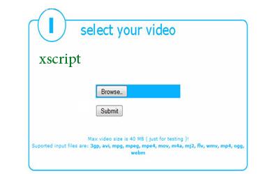 اسکریپت تغییر فرمت فیلم video converter