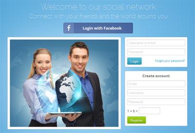 اسکریپت شبکه اجتماعی phpshark v1.4