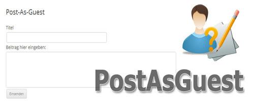 افزونه  ارسال پست توسط میهمان برای وردپرس