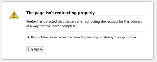 رفع خطای Too Many Redirects وردپرس