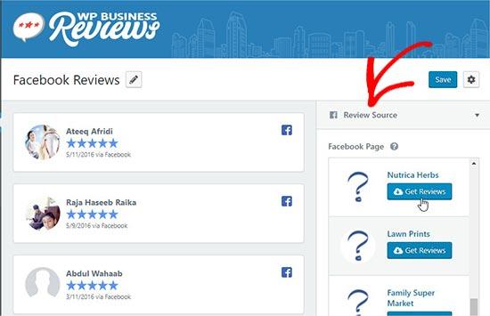نمایش نظرات گوگل، فیس بوک و یلپ در وردپرس