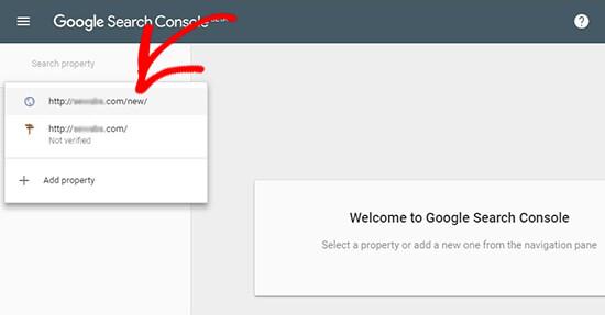 درخواست از گوگل برای بازبینی آدرس های سایت وردرپرسی