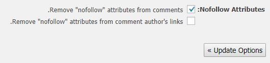 حذف NoFollow از بخش دیدگاهها