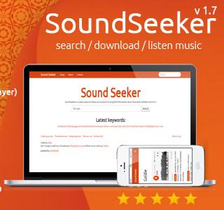 اسکریپت موتور جستجوی موزیک 1.7 Soundseeker