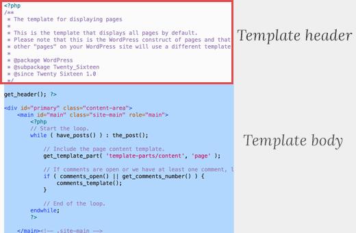 ساخت و تنظیم وردپرس page.php