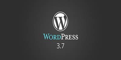 دانلود وردپرس نسخه 3.7.1