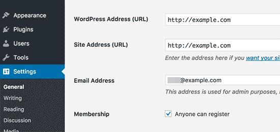 نحوه بروزرسانی URL ها