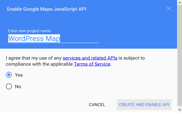 Google-Maps-API-Project-Name
