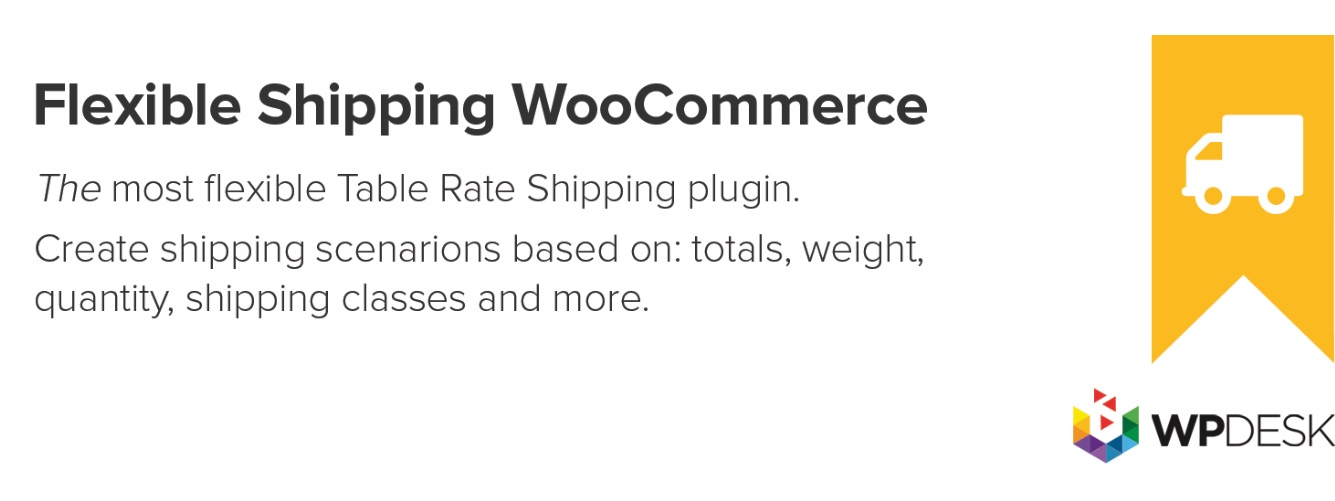 افزونه FLEXIBLE SHIPPING FOR WOOCOMMERCE